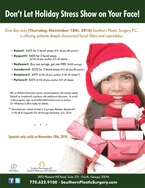 Southern Plastic Surgery S One Day Event Sale On Botox