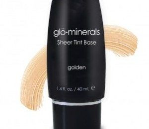 golden sheer tint base glo minerals