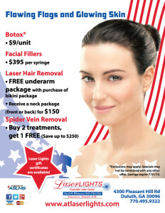Laser Lights skin care specials
