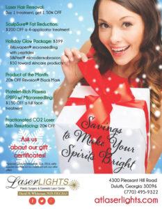 Laser Lights December 2016 specials