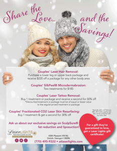 Laser Lights Cosmetic Laser center February 2017 Specials
